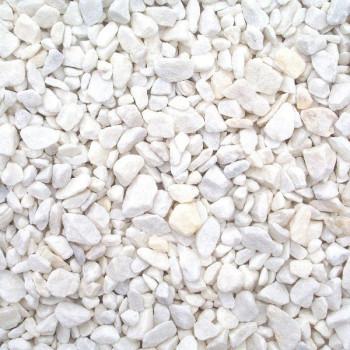 Белая мраморная крошка мешок 30кг А8