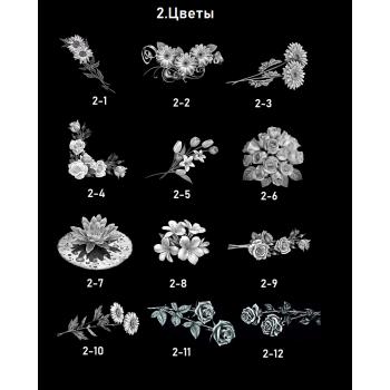 Цветы 1-12
