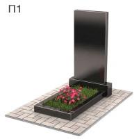 Прямоугольный вертикальный памятник П1