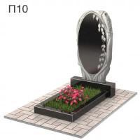 Зеркало в березе вертикальный памятник П10