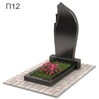 Пламя вертикальный памятник П12