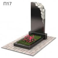 Розы вертикальный памятник П17