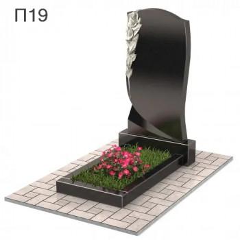 Роза вертикальный памятник П19