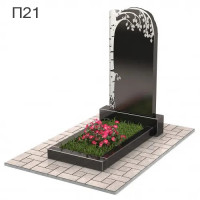 Береза вертикальный памятник П21