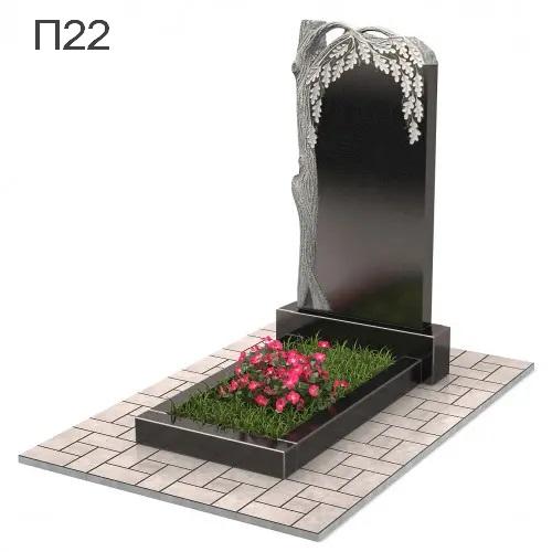 Дуб вертикальный памятник П22
