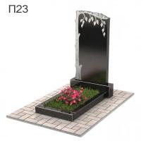 Береза-2 вертикальный памятник П23