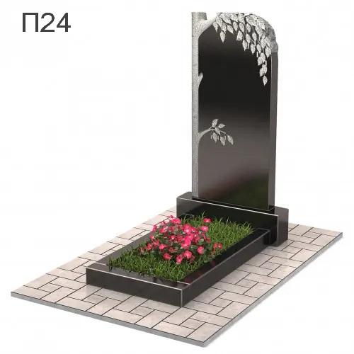 Береза-3 вертикальный памятник П24