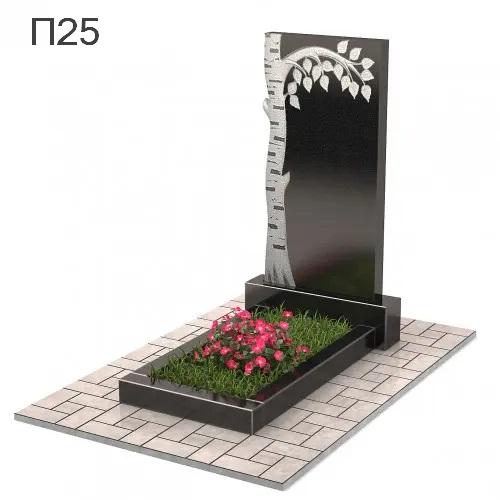 Береза-4 вертикальный памятник П25