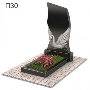 Лебедь вертикальный памятник П30