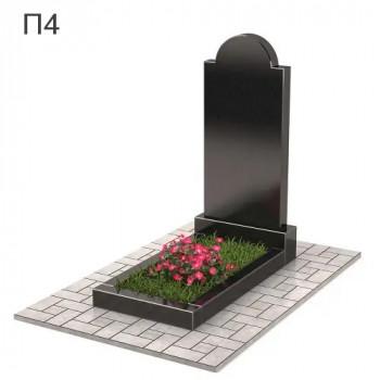 Плечики классический вертикальный памятник П4