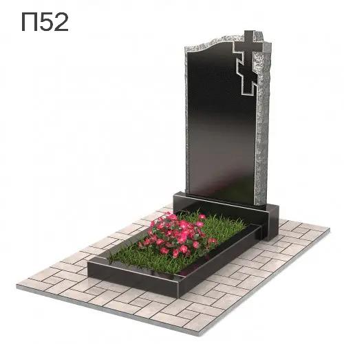 С крестом вертикальный памятник П52
