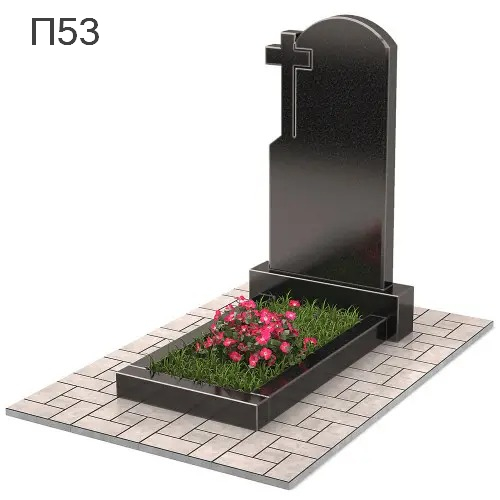 Крест  вертикальный памятник П53