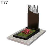 Прямоугольный вертикальный мусульманский памятник П77