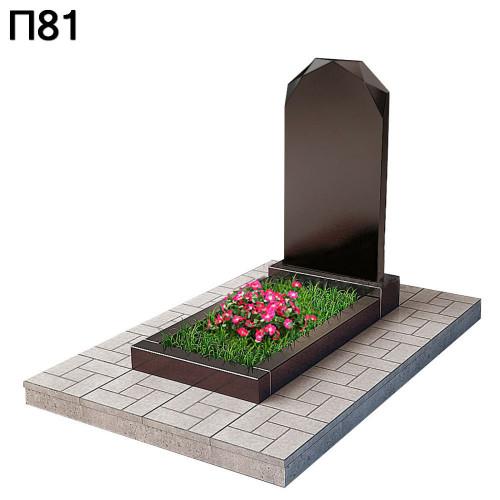 Вертикальный памятник Алмаз П81