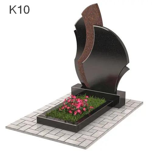 Комбинированный мемориальный  комплекс Пламя из 2-х видов К10