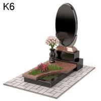 Комбинированный мемориальный  комплекс из 2-х видов К6