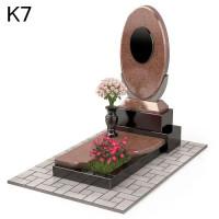 Комбинированный мемориальный  комплекс из 2-х видов К7