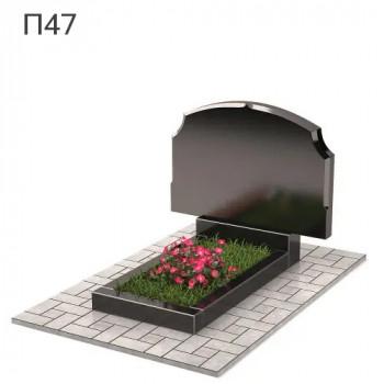 Фигурный-2 горизонтальный памятник П47