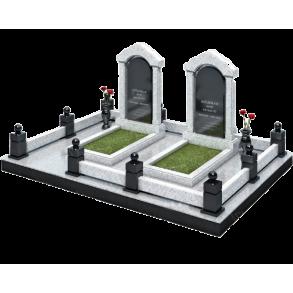 Установка памятников и благоустройство